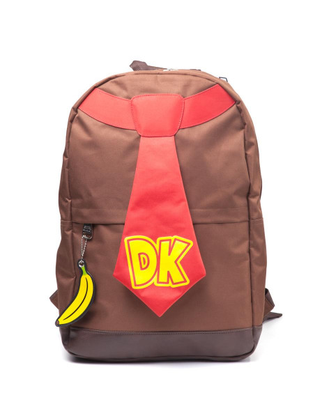 Nintendo Donkey Kong Tie Backpack Brown
