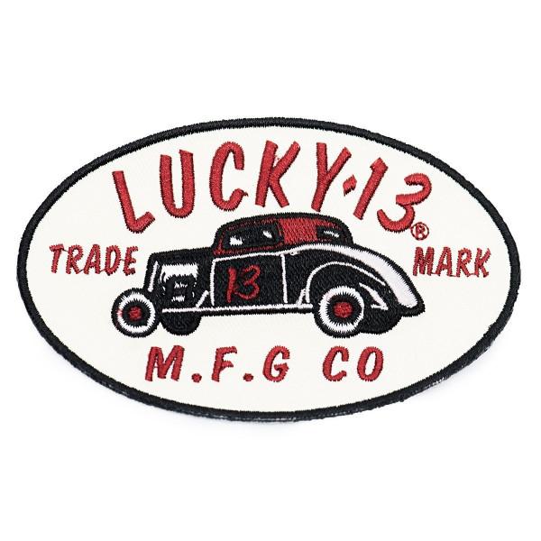 Lucky 13 Patch MFG-13 Patch Black