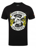 OCC Orange County Choppers T-Shirt Skull Rocker Black