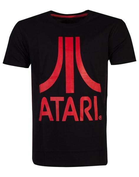 Atari - Red Logo Men's T-Shirt Black