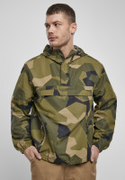 Brandit Hoodie Summer Pull Over Jacket Swedish Camouflage M90