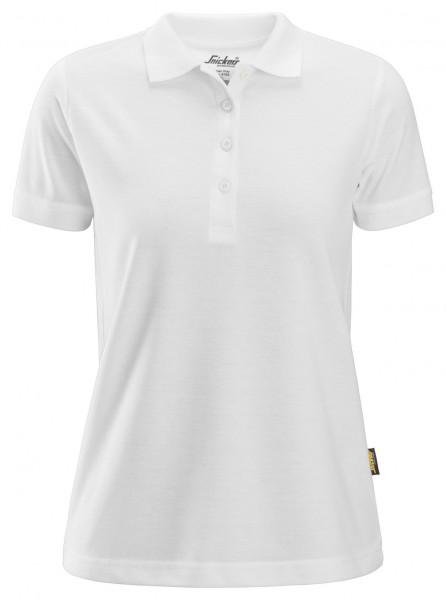 Snickers Damen Poloshirt Weiß