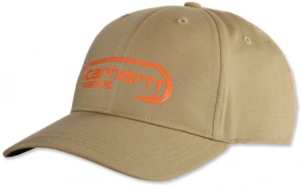 Carhartt Herren Cap M Force Ext. Fish Hook Logo Cap Dark Khaki