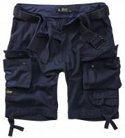 Brandit Shorts Savage Vintage Gladiator in Navy Blue