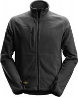 Snickers Workwear AllroundWork Polartec Fleece Arbeitsjacke schwarz