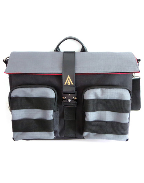 Assassin's Creed Shoulder Bags Assassin's Creed Odyssey - Washed Look Messenger Bag With Coloured W