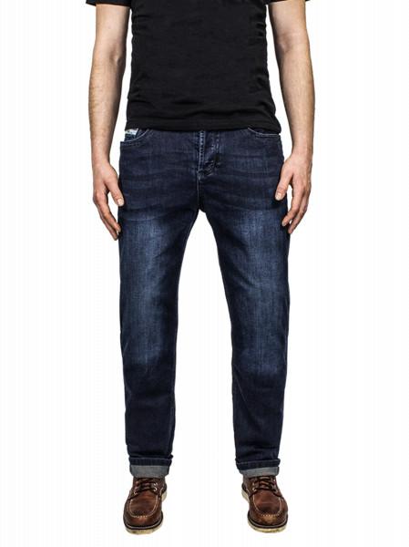 John Doe Motorrad Hose Jeans Denim Kamikaze Jeans Dark Blue