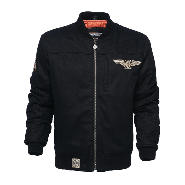 WCC West Coast Choppers Jacket Assault Black