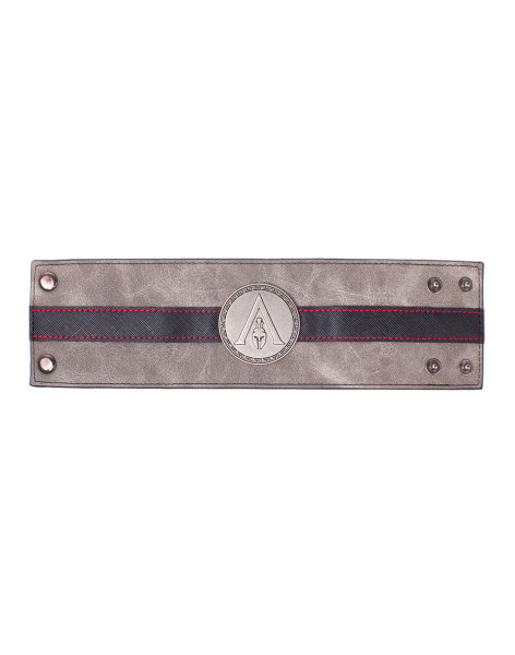 Assassin's Creed Wristbands Assassin's Creed Odyssey - Metal Badge Wristband Black