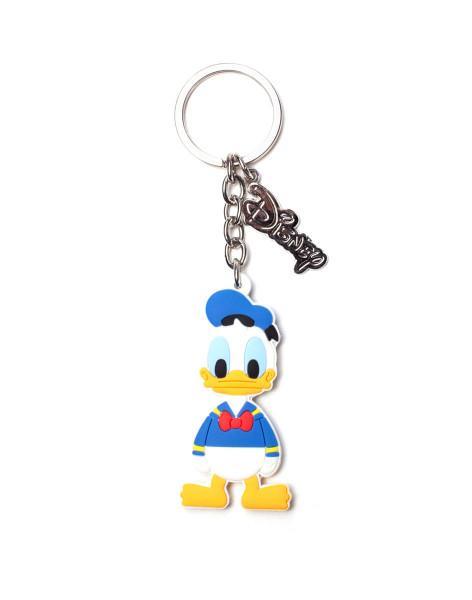 Ducktales Keychains Disney - Donald Duck Rubber Keychain White