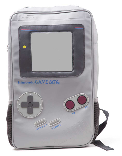 Nintendo Backpack Game Boy Shaped Grey