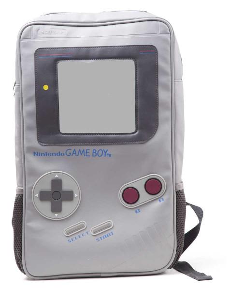 Nintendo Backpack Game Boy Shaped Grey