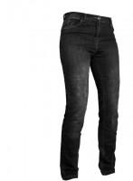 Grand Canyon Damen Motorrad Hose Hornet Jeans Kurz Black