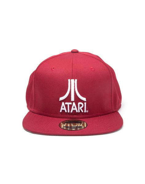 ATARI Cap Classic Logo Snapback Red