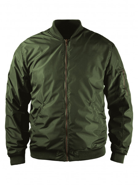 John Doe Motorrad Jacke Flight Jacket Green