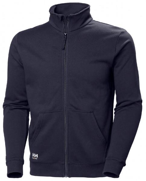 Helly Hansen Hoodie / Sweatshirt 79212 Manchester Zip Sweatershirt 590 Navy