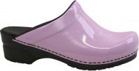 Sanita Clogs Damen Sandalen Original-Sonja Patent Open Purple