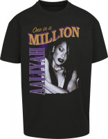 Mister Tee T-Shirt Aaliyah One In A Million Oversize Tee Black