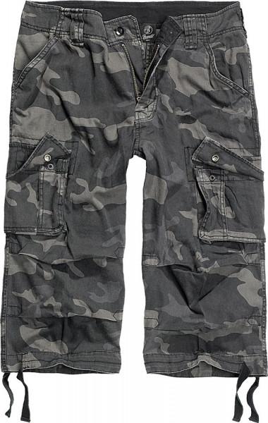 Brandit Shorts Urban Legend 3/4 Trouser in Darkcamo