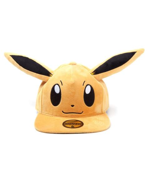 Pokémon - Eevee Plush Snapback Brown