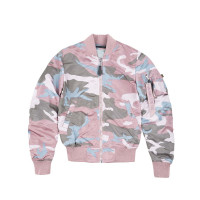 Alpha Industries Damen Jacke MA-1 VF LW Women Pastel Camo