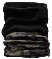 Brandit Multifunktionstuch Fleece Darkcamo