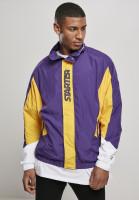 Starter Black Label Jacke Track Jacket Realviolet/Californiayel/Wht