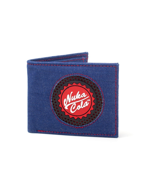 Fallout Wallets Fallout - Nuka Cola Bottle Cap Bifold Wallet Multicolor