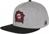 Cayler & Sons Cap CL Death Rose Cap Heather Grey/Mc