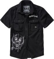 Brandit Men Hemd Motörhead Vintage Shirt 1/2 sleeve Black