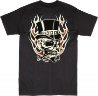 Lucky 13 T-Shirt Creeper Black