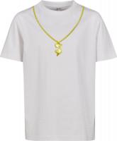 Mister Tee T-Shirt Kids Roadrunner Chain Tee White