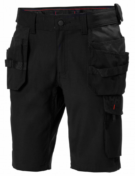 Helly Hansen Shorts / Hose 77463 Oxford Construction Shorts 990 Black