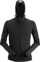 Snickers Workwear FlexiWork Stretch Fleece Hoodie PT 2.0 schwarz