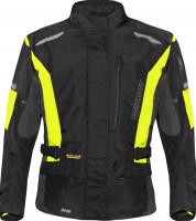 Germot Jacke Textiljacke Aron Junior Schwarz/Gelb