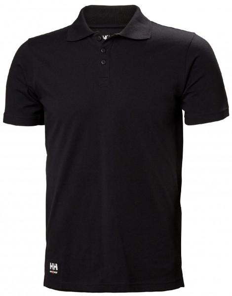 Helly Hansen T-Shirt 79167 Manchester Polo 990 Black