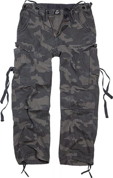 Brandit Hose M65 Vintage Trouser in Darkcamo