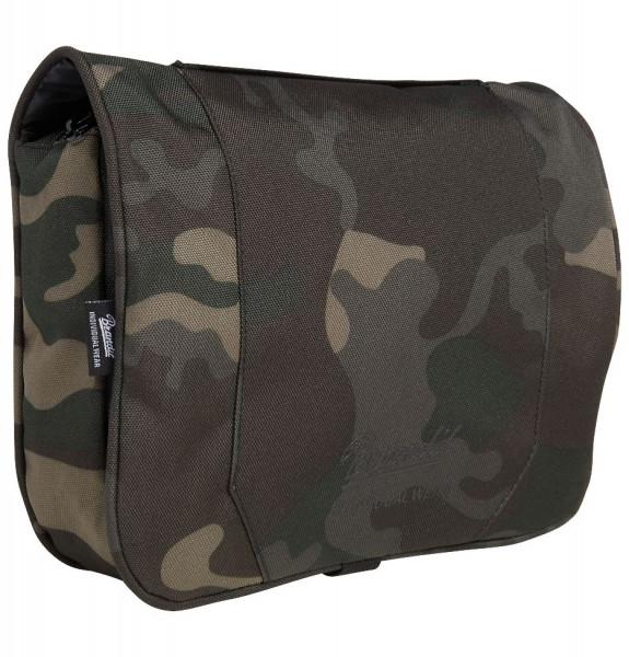 Brandit Tasche Toiletry Bag, large in Darkcamo
