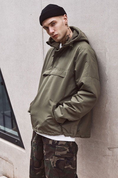 Brandit Jacke Windbreaker in Olive