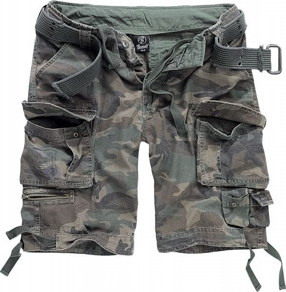 Brandit Shorts Savage Vintage in Woodland