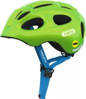 ABUS Fahrradhelm Youn-I MIPS Kids 38813P Sparkling Green