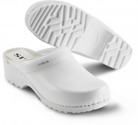 Sika Schuh Traditionell Clog Weiß