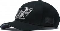 WCC West Coast Choppers Cap Kimi Raikkönen Cross 7 Snapback Roundbill Hat Black