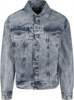 Urban Classics Jacke Oversized Denim Jacket Light Skyblue Acid Washed