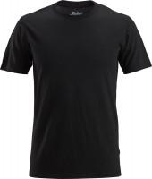 Snickers Workwear AllroundWork Wool T-Shirt schwarz