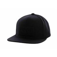 Brixton Cap Rift Snapback Black Logo Black