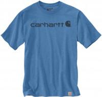 Carhartt T-Shirt Core Logo Coastal Heather