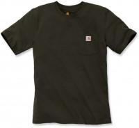 Carhartt Herren T-Shirt Workw Pocket T-Shirt S/S Peat