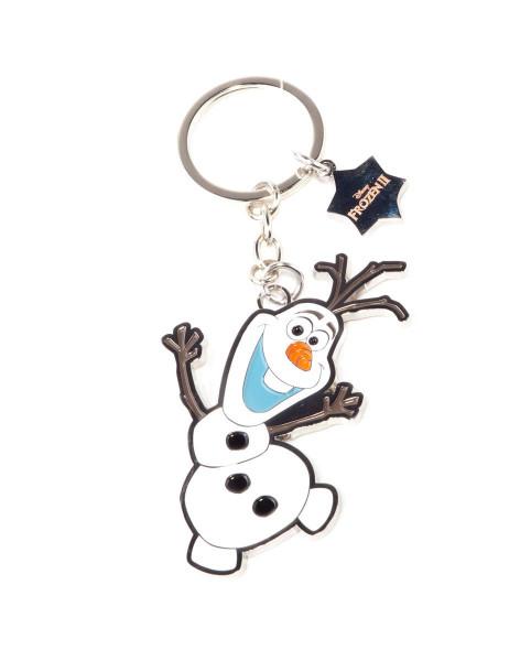 Disney - Frozen 2 Olaf Metal Keyring Black
