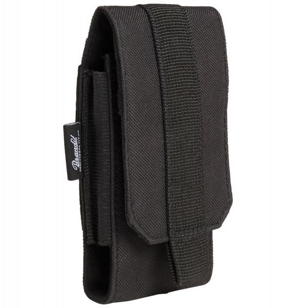Brandit Tasche Molle Phone Pouch, medium in Black